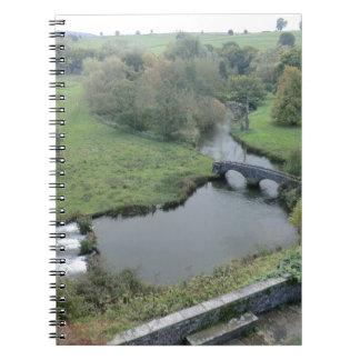 Horqueta del río en Haddon Pasillo Libro De Apuntes