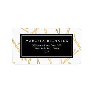 Horquillas Elegantes del oro Hairstylist, salón de Etiqueta De Dirección