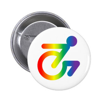 Horray for Queer Folks in Chairs! 2 Inch Round Button