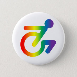 Horray for Queer Folks in Chairs! Pinback Button
