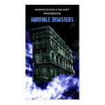 Horrible Disasters Cards Business Cards