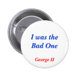 Horrible Histories Bad One Pinback Buttons