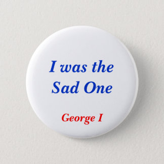 Horrible Histories Sad One Pinback Button