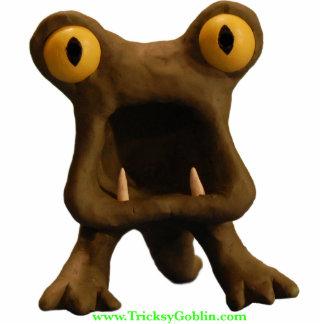 Horrible Monster 2-D Sculpture Standing Photo Sculpture