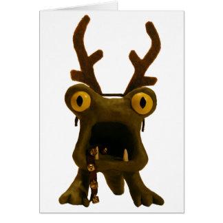 Horrible Monster Solstice Card
