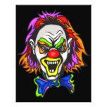 Horrid Evil Clown Flyer Design