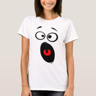 Horrified Smiley T-Shirt