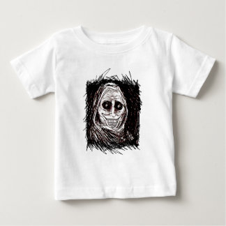 Horrifying House-guest, Never Alone, Uninvited Baby T-Shirt