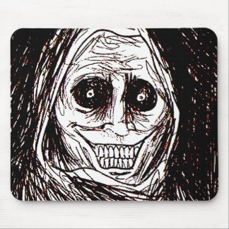 Horrifying House-guest, Never Alone, Uninvited Mouse Pad