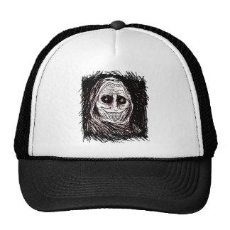 Horrifying House-guest, Never Alone, Uninvited Trucker Hat