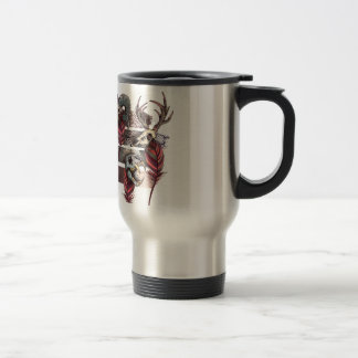 Horror Animal Curse Skeleton Skull Travel Mug