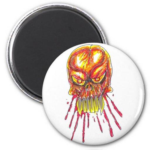 Horror Art Refrigerator Magnet