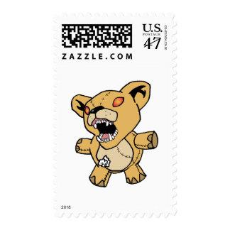 horror bear133 postage stamp