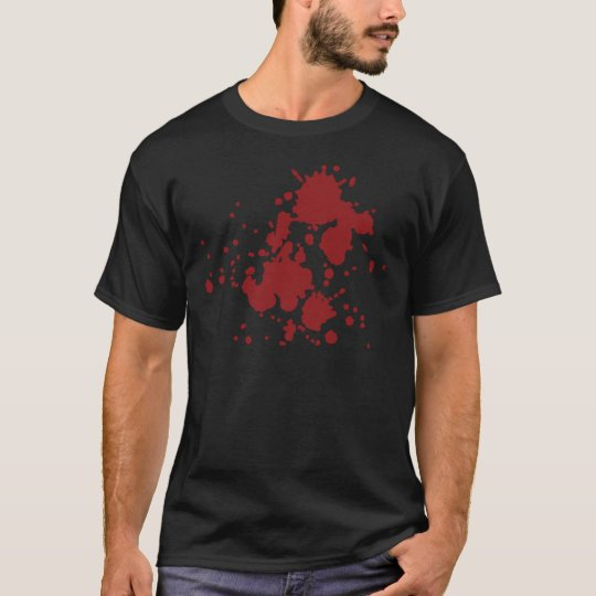 horror blood stains T-Shirt