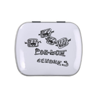 horror candy container jelly belly tins
