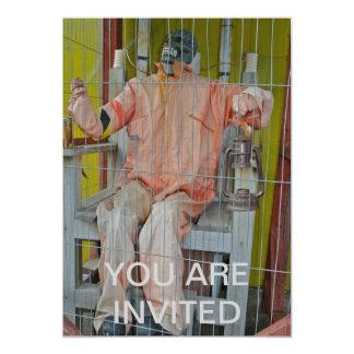Horror Characters Invitation