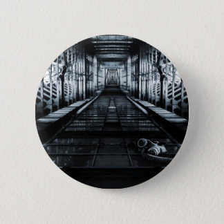 Horror City Pinback Button