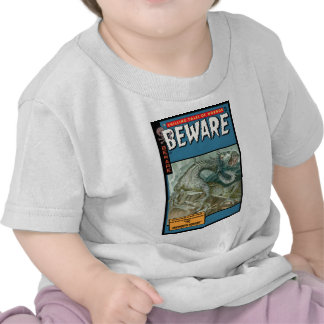 Horror Comic: Beware T Shirts