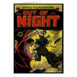Horror Comic: Out of the Night 4 Card