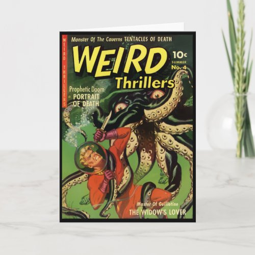 Horror Comic: Weird Thrillers 4