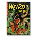 Horror Comic: Weird Thrillers 4 Card