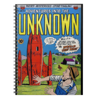 Horror Comics: Into the Unknown 61. Notebook