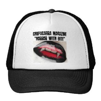 Horror con el gorra del camionero de la mordedura