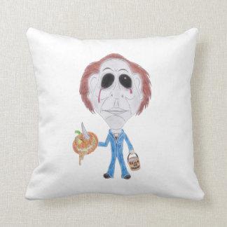 Horror Cult Movie Caricature Serial Killer Cushion Pillow