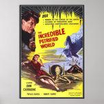 Horror de la película del vintage - impresiones