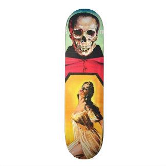Horror de la película del vintage - skate board