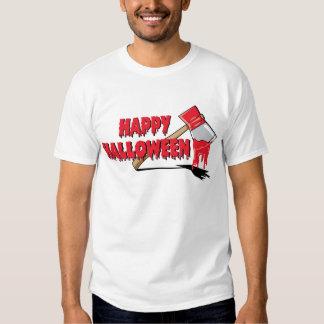 Horror del feliz Halloween Playeras