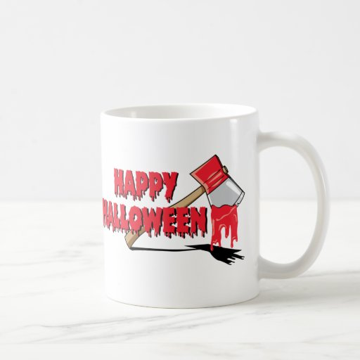 Horror del feliz Halloween Tazas