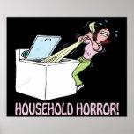 Horror del hogar poster