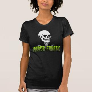 HORROR FANATIC SKULL T-Shirt