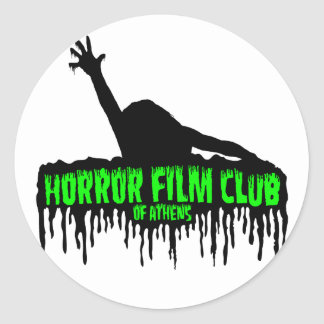 Horror Film Club of Athens Stickers
