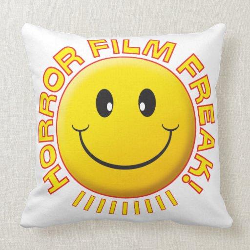 Horror Film Freak Smile Pillows