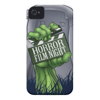 Horror Film Zombie or Monster Clapper Board Sign iPhone 4 Case-Mate Case