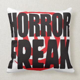 Horror Freak Throw Pillows