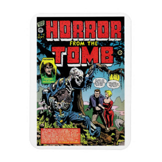"""""""Horror from the Tomb #1"""" Magnet"""