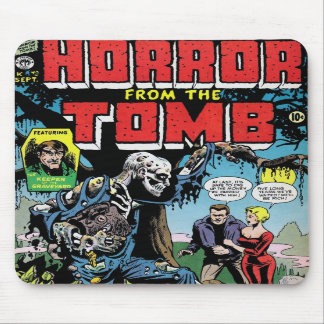 """""""Horror from the Tomb #1"""" Mousepad"""