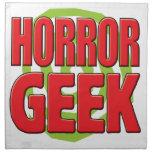 Horror Geek Cloth Napkins