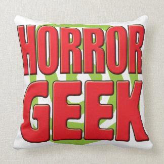 Horror Geek Throw Pillows