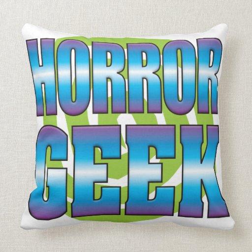Horror Geek v3 Pillow