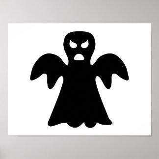 Horror ghost halloween poster