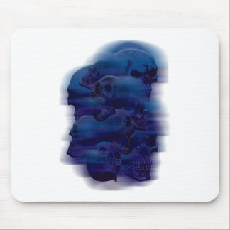Horror Ghost Skeleton Mouse Pad
