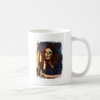 Horror Girl Candle Freak Creepy Horror Coffee Mug