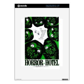 Horror Hotel iPad 2 Decal