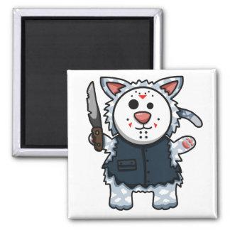 Horror Kitty Slasher Magnet
