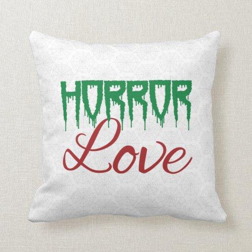 Horror Love Pillow