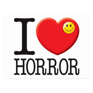 Horror Love Postcard